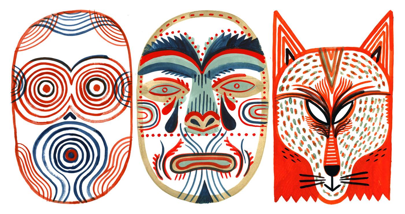Theatre Masks Tumblr